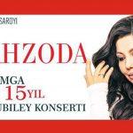 Shahzoda - Ijodimga 15 yil nomli konsert dasturi / Шахзода - Концерт дастури 2015