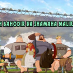 Uch bahodir va Shamaha malikasi (Multfilm, Uzbek tilida) HD