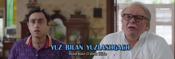 Yuz bilan yuzlashgach Hind kino O'zbek tilida