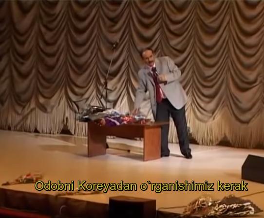 Hojiboy Tojiboyev - Odobni Koreyadan o`rganishimiz kerak