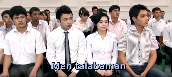 Men talabaman (o'zbek film) Мен талабаман (узбекфильм)