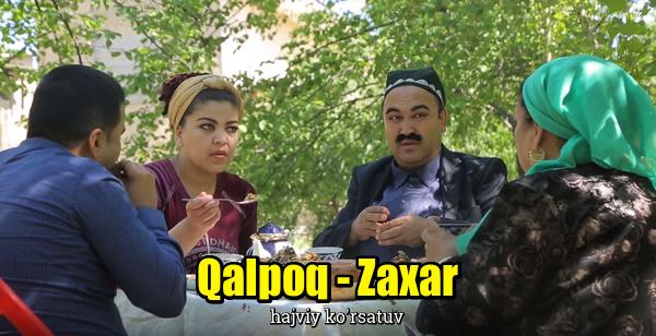 Qalpoq - Zaxar (hajviy ko'rsatuv) Калпок - Захар (хажвий курсатув)