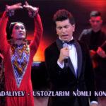 Sardor Mamadaliyev - Ustozlarim nomli konsert dasturi