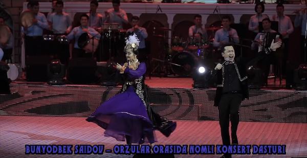 Bunyodbek Saidov - Orzular orasida nomli konsert dasturi 2019