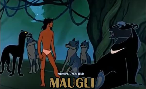 Maugli Маугли (Multfilm, Ozbek tilida)
