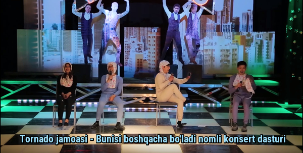 Tornado jamoasi - Bunisi boshqacha bo'ladi nomli konsert dasturi 2019