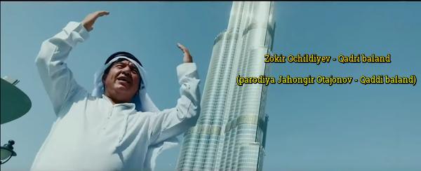 Zokir Ochildiyev - Qadri baland (parodiya Jahongir Otajonov - Qaddi baland) 2019