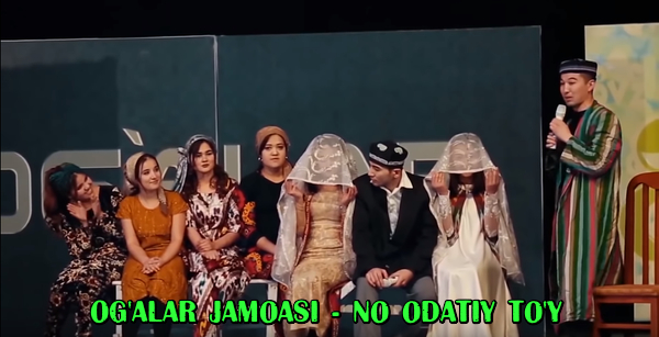 Og'alar jamoasi - No odatiy to'y