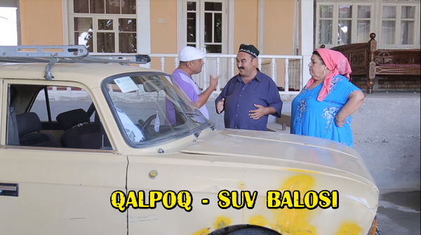 Qalpoq - Suv balosi Калпок - Сув балоси (hajviy ko'rsatuv)
