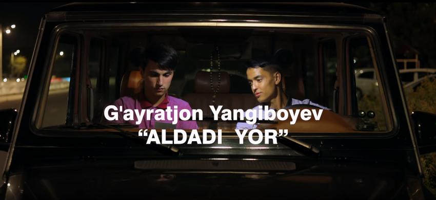 G'ayratjon Yangiboyev - Aldadi yor Гайратжон Янгибоев - Алдади ёр