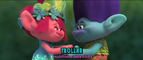 Trollar - multfilm o'zbek tilida
