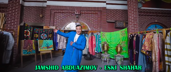 Jamshid Abduazimov - Eski shahar Жамшид Абдуазимов - Эски шахар