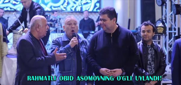 Rahmatli Obid Asomovning o'g'li uylandi! Yulduz Usmonova kuyovga nimalar dedi
