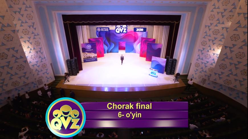 QVZ 2019 Chorak final 6-O'YIN