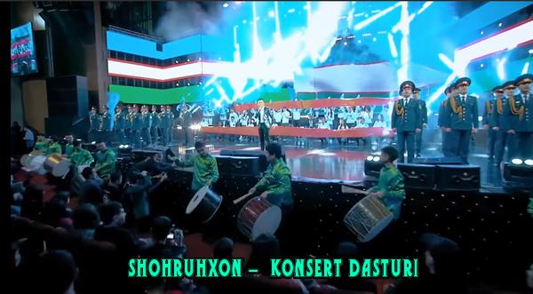 Shohruhxon - konsert dasturi Шохруххон- концерт дастури