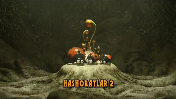 Hashoratlar 2 multfilm o'zbek tilida FULL HD farmatda.