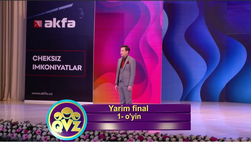 QVZ 2019 Yarim final 1-O'YIN