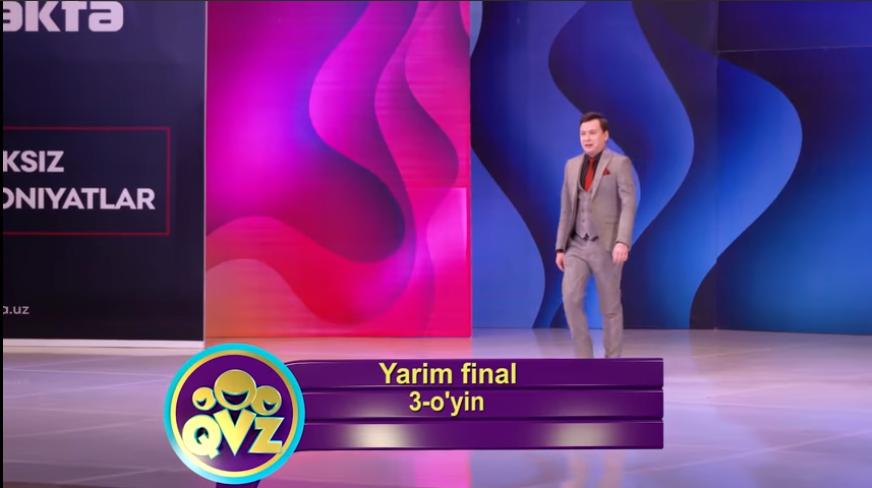 QVZ 2019 Yarim final 3-O'YIN