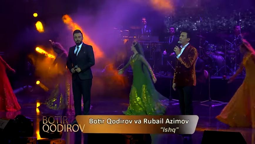 Botir Qodirov & Rubail Azimov - Ishq (consert version )