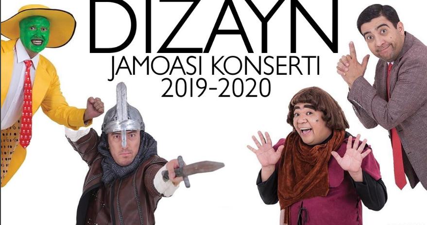 DIZAYN JAMOASI (DIZAYN SHOU 2019) KONSERT DASTURI