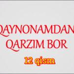 Qaynonamdan qarzim bor | Komediya serial - 12 qism