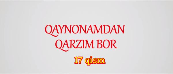 Qaynonamdan qarzim bor Komediya serial - 17 qism